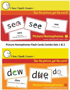 Homophones Flashcards